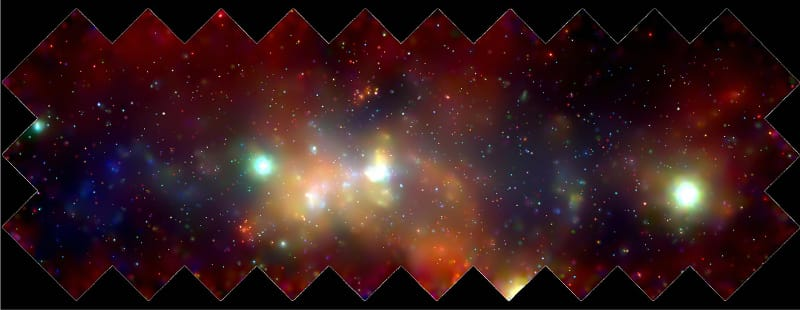 The Galactic Center (Chandra)